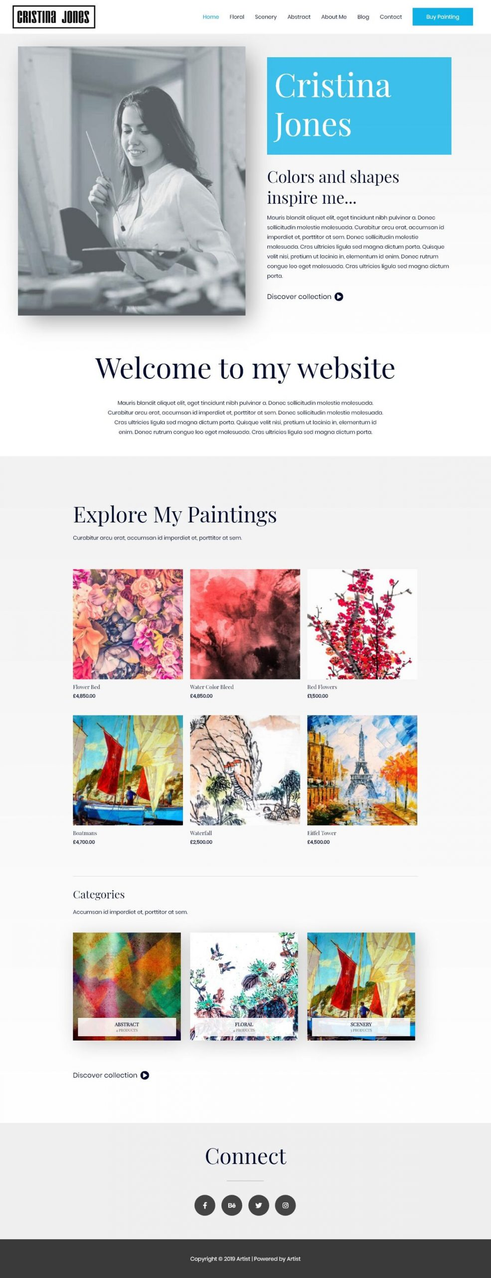 kunstenaar webshop laten maken
