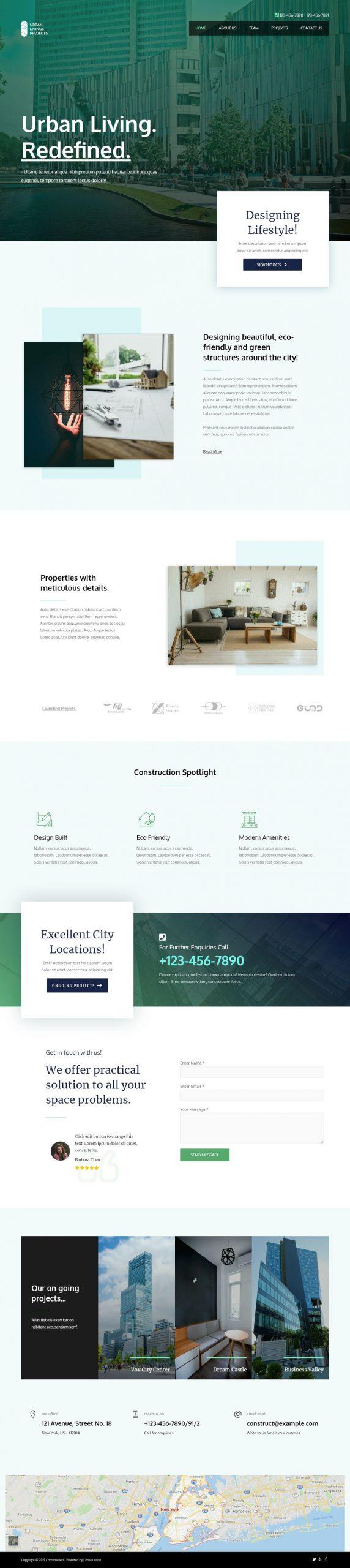 bouwbedrijf website