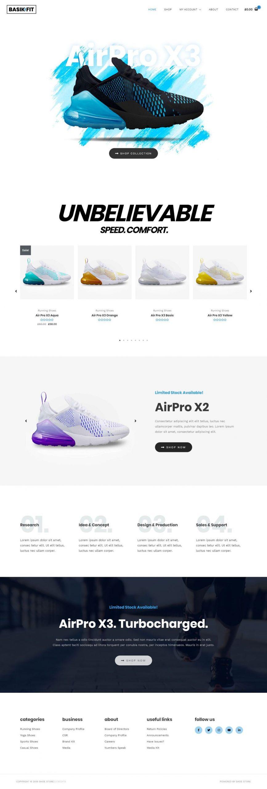 schoenen webshop laten maken
