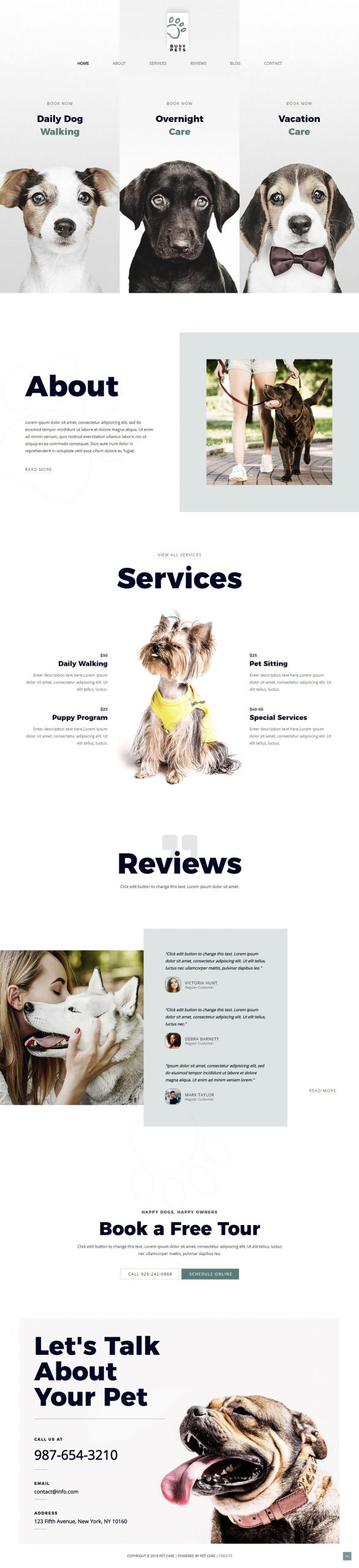 honden kennel website