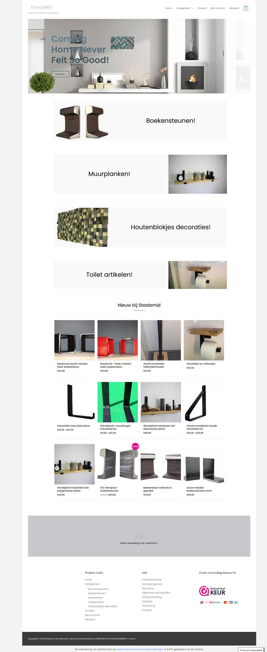 webshop voorbeeld 2